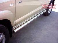 "Пороги ""труба"" d76 на Hyundai Tucson (2004 -) СОЮЗ-96 HTUC.80.0082"