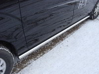 Пороги труба 60,3 мм для Hyundai H-1 (2013 -) ТСС HYUNH110-04