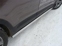 Пороги (труба) 60,3 мм для Hyundai Santa Fe Grand (2014 -) ТСС HYUNSFGR14-10