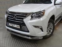 Защита переднего бампера 76,1 мм для Lexus GX460 (2014 -) ТСС LEXGX46014-04