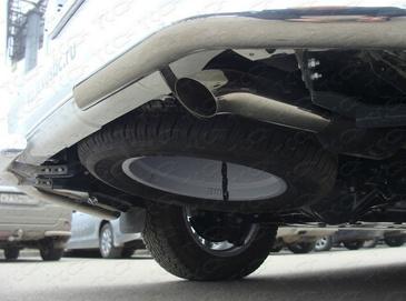 Насадка на глушитель 76,1 мм для Lexus GX460 (2014 -) ТСС LEXGX46014-09