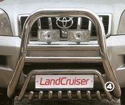 Решетка передняя мини d76 (51) на Lexus LX 470 (1998 -) СОЮЗ-96 LEXL.55.0089