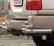 "Защита задняя ""уголки"" на Lexus LX 470 (1998 -) СОЮЗ-96 LEXL.76.0092"