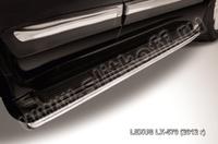 Защита штатного порога d42 для Lexus LX570 (2012 -) Слиткофф LLX570-12-008