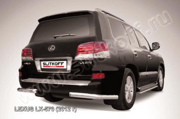 Уголки d76  для Lexus LX570 (2012 -) Слиткофф LLX570-12-014