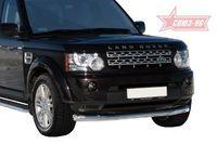 "Защита переднего бампера d76 ""труба"" на Land Rover Discovery 4 (2010 -) СОЮЗ-96 LRDV.48.1243"