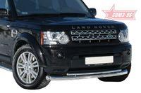 Защита переднего бампера d76/60 двойная на Land Rover Discovery 4 (2010 -) СОЮЗ-96 LRDV.48.1244