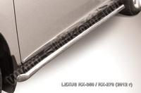 Пороги d76 труба с гибами для Lexus RX (2012 -) Слиткофф LRX35-12.006