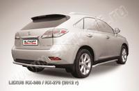 Защита заднего бампера d57 для Lexus RX (2012 -) Слиткофф LRX35-12.010