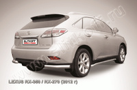 Уголки d76 для Lexus RX (2012 -) Слиткофф LRX35-12.012