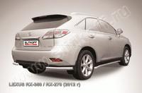 Уголки d57 для Lexus RX (2012 -) Слиткофф LRX35-12.013