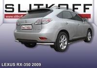 Уголки d76 для Lexus RX (2009 -) Слиткофф LRX35017