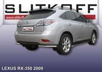 Уголки d57 для Lexus RX (2009 -) Слиткофф LRX35018