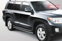 Защита штатных порогов d 42 для Toyota Land Cruiser 200 (2013 -) СОЮЗ-96 LX57.86.0630 (Эксклюзив TMR)