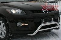 Решетка передняя мини d60 низкая на Mazda CX-7 (2007 -) СОЮЗ-96 MACX.56.0545