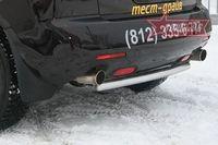 Защита задняя d60 на Mazda CX-7 (2007 -) СОЮЗ-96 MACX.75.0551