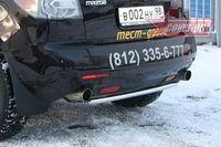 Защита задняя d42 на Mazda CX-7 (2007 -) СОЮЗ-96 MACX.75.0552