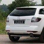 Защита задняя d60 короткая на Mazda CX-7 (2010 -) СОЮЗ-96 MACX.75.1113