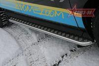 Пороги с листом d42 на Mazda CX-7 (2007 -) СОЮЗ-96 MACX.82.0548