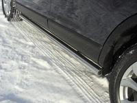"Пороги ""труба"" 76,1 мм на Mazda CX-9 (2013 -) ТСС MAZCX913-04"