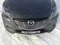 Решётка радиатора 16 мм на Mazda CX-9 (2013 -) ТСС MAZCX913-09