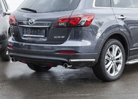 Защита задняя уголки d42 для Mazda CX-9 (2013 -) СОЮЗ-96 MCX9.76.1691
