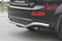 "Защита заднего бампера d60 ""волна"" на Mitsubishi Outlander XL (2006 -) СОЮЗ-96 MIOU.75.0483"