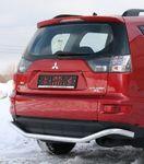 "Защита заднего бампера d60 ""волна"" на Mitsubishi Outlander XL (2010 -) СОЮЗ-96 MIOU.75.1042"