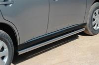 """Пороги """"труба"""" d60 на Mitsubishi Outlander (2012 -) СОЮЗ-96 MIOU.80.1559"""