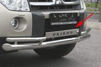 Защита переднего бампера на Mitsubishi Pajero 4 (2006 -) СОЮЗ-96 MIPJ.99.0470