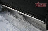 """Пороги """"труба"""" d60 на Mitsubishi Pajero Sport (2008 -) СОЮЗ-96 MIPS.80.0778"""