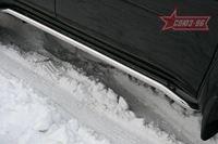 Защита штатных порогов d42 на Mitsubishi Pajero Sport (2008 -) СОЮЗ-96 MIPS.86.0777