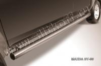 Пороги d76 труба для Mazda BT-50 (2007 -) Слиткофф MZB012