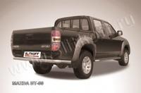 Защита заднего бампера d76 для Mazda BT-50 (2007 -) Слиткофф MZB014