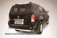 Защита заднего бампера d76 для Nissan Pathfinder (2005 -) Слиткофф NIP011