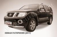 Защита переднего бампера d76 для Nissan Pathfinder (2010 -) Слиткофф NIP11-001