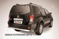 Защита заднего бампера d76 для Nissan Pathfinder (2010 -) Слиткофф NIP11-007