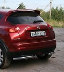 """Защита задняя """"уголки"""" d42 на Nissan Juke 4x4 (2010 -) СОЮЗ-96 NJU4.76.1397"""