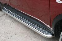 Пороги с листом d60 на Nissan Juke 4x4 (2010 -) СОЮЗ-96 NJU4.82.1393