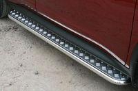 Пороги с листом d42 на Nissan Juke 4x4 (2010 -) СОЮЗ-96 NJU4.82.1394