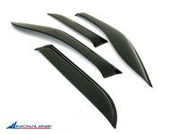 Дефлекторы боковых окон для Chevrolet Spark (2010 -) Novline NLD.SCHSPA1032