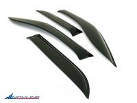 Дефлекторы боковых окон для Kia Rio Хэтчбэк (2005 - 2011) Novline NLD.SKIRIOH0532