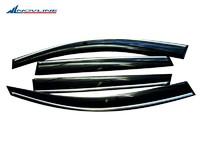 Дефлекторы боковых окон для Volvo XC90 (2002 -) Novline NLD.SVOXC900332-CR