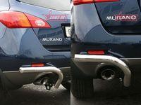 "Защита задняя ""уголки"" d60 на Nissan Murano (2008 -) СОЮЗ-96 NMUR.76.0833"