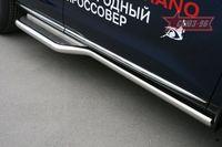 Пороги (с листом только под задние двери) d60 на Nissan Murano (2008 -) СОЮЗ-96 NMUR.82.0831