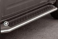 Защита штатного порога d42 на Nissan Pathfinder (2005 -) СОЮЗ-96 NPTF.86.0217