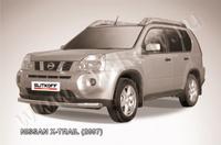 Защита переднего бампера d76 для Nissan X-Trail (2007 -) Слиткофф NXT004