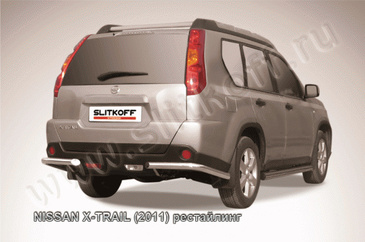 Уголки d57 для Nissan X-Trail (2011 -) Слиткофф NXT11-010