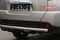 "Защита задняя ""волна"" d60 на Nissan X-Trail (2007 -) СОЮЗ-96 NXTR.75.0505"