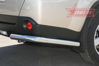 "Защита задняя ""уголки"" d60 на Nissan X-Trail (2007 -) СОЮЗ-96 NXTR.76.0504"